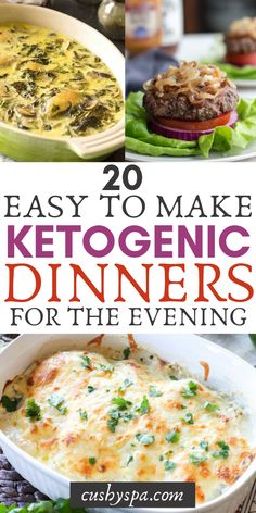 Try these little ketogenic dinners and lunches. Make these low carb meals at home and let your family enjoy them. #keto #lowcarbmeals #lowcarb
