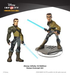 In an exclusive interview, Lucasfilm's Hez Chorba and Avalanche Software's Jeff Bunker discuss making Star Wars Rebels toys for Disney Infinity Edition. Character Poses, Game Character Design, Character Design Inspiration, Strong Character, Disney Marvel, Disney Star Wars, Disney Pixar, Cartoon Network Adventure Time, Adventure Time Anime