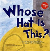Community Helpers book, inspiring me to play a guessing game with dress ups!