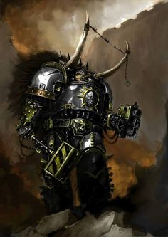 bolt_pistol chaos iron_warriors power_hammer space_marines terminator