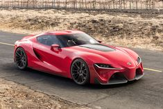 Delightful Toyota FT 1 Concept