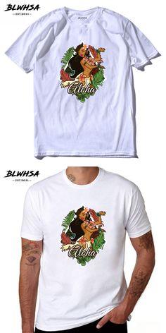 BLWHSA Brazilian Style Dancing Girl Design T-Shirts Men Personalized Custom Tee New Summer Short Sleeve Fitness Cotton T Shirt