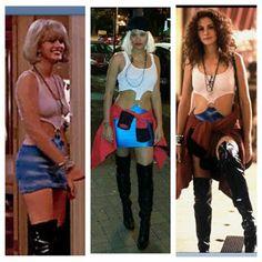 C Pretty Woman Halloween, Halloween Costunes, Pretty Woman Movie, Blonde Halloween Costumes, Pretty Woman Costume, Easy Couple Halloween Costumes, 90s Costume, Dress Up Costumes, Pop Culture Halloween Costume