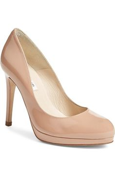 L.K. Bennett 'Sledge' Pump (Women) available at #Nordstrom in fawn $345