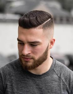 45 Trendiest Pompadour Haircuts For Men Choicest Styles 82 Trendiest Mens Hairstyles For 2019 Lovehairstyles Com 30 Side Part Haircuts A Classic Style For Gentlemen The Parting Perm Combined With The Two Block For A Hot Style Best Quiff Hairstyle Mens Hairstyles Round Face, Mens Hairstyles Pompadour, Trendy Mens Hairstyles, Mens Hairstyles With Beard, Hair And Beard Styles, Haircuts For Men, Hairstyle Short, Modern Haircuts, Medium Hairstyles