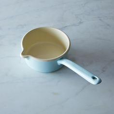 Blue Enamel Porridge Pot on Provisions by Food52