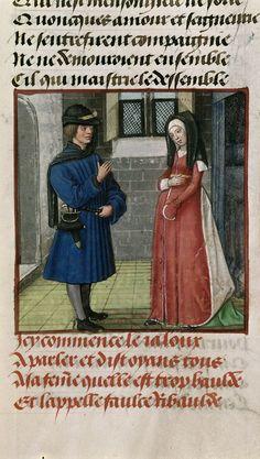 Harley 4425 AuthorGuillaume de Lorris and Jean de Meun TitleRoman de la Rose OriginNetherlands, S. (Bruges) Datec. 1490-c. 1500 LanguageFrench Folio 77