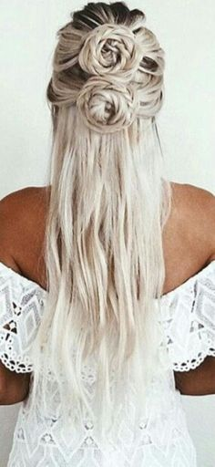 Algún día te are | Beautiful Long Blonde Hair | Khaleesi Hair