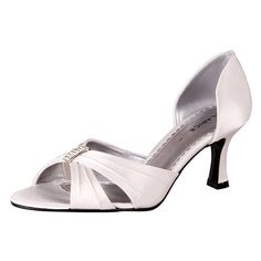 Compare millions shoes prices from the most trusted stores ! Buy Shoes Online, High Class, Sophisticated Style, Bridal Shoes, Open Toe, Beautiful Dresses, Ivory, Satin, Sandals