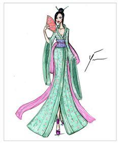 Disney Princesses 'Mulan' by Yigit Ozcakmak