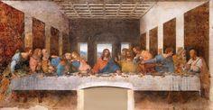 Da Vinci's The Last Supper. Art exhibitions across Europe in 2015