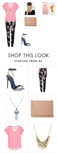 """""""Untitled #128"""" by blue-black ❤ liked on Polyvore featuring BCBGMAXAZRIA, Ted Baker, Valentino and Charlotte Russe"""