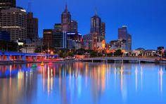 Beautiful view of #Melbourne
