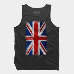 UK Vintage flag Tank Top  UK Vintage flag @designbyhumans by goljakoff https://www.designbyhumans.com/shop/t-shirt/uk-vintage-flag/790166    #cloth #clothing #tshirt #sale #buy #custom #style #fashion #design #art #illustration #tee #dbh #england #flag #britain #vintage #grunge #cool
