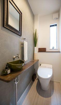 Laundry In Bathroom, Bathroom Interior Design, Baths Interior, Small Toilet Room, Small Toilet, Gray Bathroom Decor, Small Downstairs Toilet, Small Bathroom, Bathroom Plans