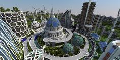 Minecraft has caught the attention of architects and designers. Can a game change how architecture is taught and practiced? See the amazing examples here.