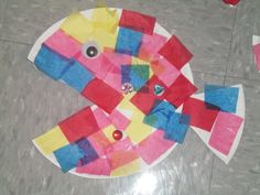 We studied letter F. Our theme was the Rainbow Fish. Preschool Art Projects, Kindergarten Crafts, Preschool Crafts, Kid Crafts, Children Crafts, Preschool Ideas, Teaching Ideas, Rainbow Fish Book, Rainbow Fish Crafts
