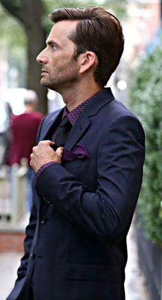 Dapper David Tennant as Kilgrave in Jessica Jones
