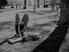 Beautiful cemetery art