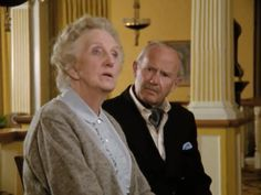 Agatha Christie. Miss Marple and Sir Henri in, The body in the Library.