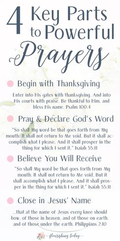 Do you ever feel like you don't know what to pray? Or maybe you feel like your prayers are useless? Here are tips for how to pray powerful daily prayers. + A FREE PRINTABLE BOOKMARK Prayer Scriptures, Bible Prayers, Faith Prayer, God Prayer, Power Of Prayer, Prayer Quotes, Bible Verses Quotes, Spiritual Quotes, Powerful Scriptures
