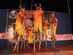 Dhemsa Dance Competition. India.