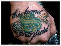 Money Tattoos Designs