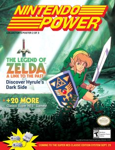 Nintendo Power - The legend of Zelda a Link to the past, Classic Super Nes™ Classic Nes Games, Snes Classic, Classic Video Games, Vintage Video Games, Retro Video Games, Vintage Games, Super Nes Games, Video Game Magazines, Computer Video Games