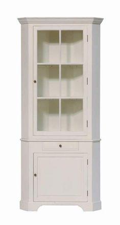 Eckschrank Weiß Massivholz, Eckschrank Landhaus In Vier Farben   Vitrinen U0026  Geschirrschränke   Landhaus Stil   Möbel