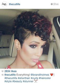 Wigs women black curly short