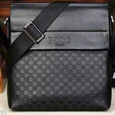 Hot Selling Men Polo Videng Messenger Bag Men iPad Bag Casual Faux Leather