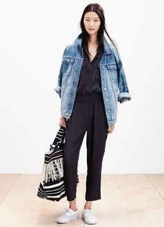 """See Every Piece From Madewell's Spring '15 Collection: According to head of design, Somsack Sikhounmuong, Madewell Spring '15 is all about """"returning to the classics, the things you love and come back to"""" — or in our case, the things we wish we had and need to shop when the line debuts next year."""