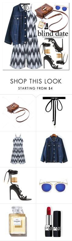 """""""Blind Date"""" by oshint ❤ liked on Polyvore featuring Joomi Lim, Tom Ford, Christian Dior and vintage"""