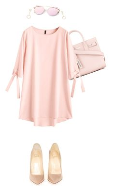 """""""Untitled #261"""" by avrilsuar on Polyvore featuring Yves Saint Laurent, Christian Louboutin and Chloé"""