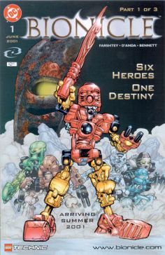 Bionicle: Comic #1 (ibionicle.com 2013)