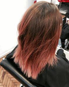 Rose-Gold hair . LOVE it ✨✨✨