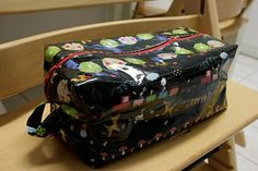 toiletry bag pattern from created blissfully on etsy. 2010