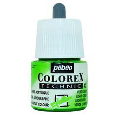 Aquarela Líquida Colorex Pebeo 42 Light Green
