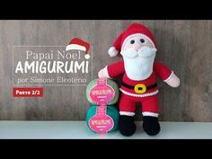 Simone Eleotério - Papai Noel Amigurumi - Parte 2 - YouTube Christmas Decorations, Christmas Ornaments, Holiday Decor, Xmas, Crochet Videos, Crochet Dolls, Christmas And New Year, Christmas Stockings, Free Pattern