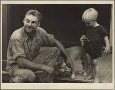 Bruno and Buren van Bavel Young farmer who has been resettled, Penderlea, North Carolina, 1935