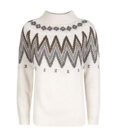 View the Zig Zag Knit Sweater