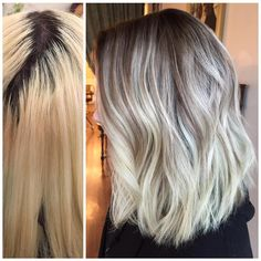 When you're over the high maintenance blonde and harsh roots, balayage is your solution