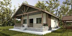 proiecte de case cu doua intrari Split entry house plans 7 – Famous Last Words Split Entry, Sims House, Home Fashion, Front Porch, Gazebo, House Plans, Shed, Outdoor Structures, How To Plan