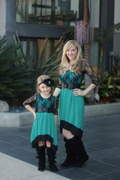 Adorable matching mommy and me dress! #beinspiredboutique #mommyandmedress #inspiredbyyou