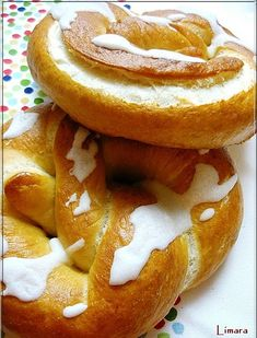 Bread Recipes, Cake Recipes, Bread Rolls, Onion Rings, Bagel, Biscuits, Lime, Favorite Recipes, Baking