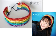 Make it in value colors! Braided Headband Tutorial - Sugar Bee Crafts