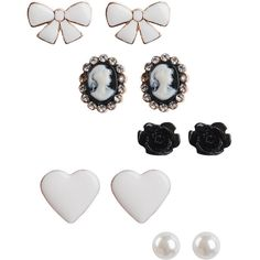 victorian #earrings set from Forever 21 #jewelry