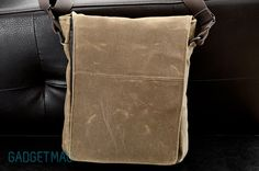 WaterField Muzetto Outback waxed canvas bag