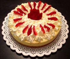 #Cheesecake con crema y frutillas by #Mufflinks. Pedidos mufflinks@yahoo.com