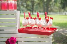 A sweet and whimsical strawberry wedding inspiration shoot by Artful Adventures…